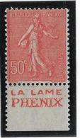 France N°199 Avec Bande Publicitaire - Neuf ** Sans Charnière - TB - Werbung