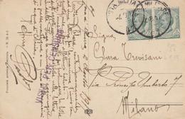 "9790-CARTOLINA ILLUSTRATA -""POSTA MILITARE-87"" - 4-8-1917 - Storia Postale"