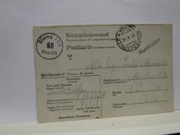STORIA  POSTALE  -- PRIGIONIERI II GUERRA  CAMPI  TEDESCHI  ---  STALAG  -- N°   VI A - 1900-44 Victor Emmanuel III.