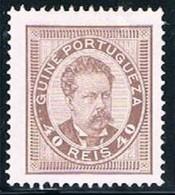 Guiné, 1886, # 28 Dent. 13 1/2, MNG - Guinea Portuguesa