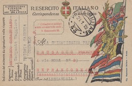 "9792-CARTOLINA ILLUSTRATA -""POSTA MILITARE-53"" - 21-1-1919 - 1900-44 Vittorio Emanuele III"