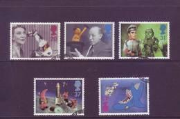 Gran Bretagna 1996 - Televisione, 5v Con Annullo Leggero E Rotondo - 1952-.... (Elizabeth II)