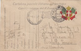 "9795-CARTOLINA ILLUSTRATA -""POSTA MILITARE-45°DIVISIONE"" - 29-12-1916 - Marcophilia"