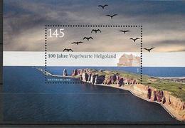 2010  Deutschland Allem. Fed. Germany  Mi. Bl. 77 **MNH  100 Jahre Vogelwarte Helgoland - [7] République Fédérale