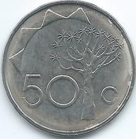 Namibia - 2008 - 50 Cents - KM3 - Namibia
