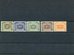 RUANDA-URUNDI 1943 Porto   MNH. - Ruanda-Urundi