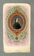 Old Photo Cdv Médaillon Portait Femme Enluminure Illumination Highlights Très Beau Travail Vers 1870 - Anciennes (Av. 1900)