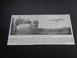 """Origineel Knipsel ( 3790 ) Uit Tijdschrift """" Ons Volk """" 1930 :   Leuven   Louvain - Vieux Papiers"""