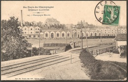 "CPA Epernay Illustré - Champagne Mercier - ""Au Pays Du Champagne"" 1911 Marne 51 - Epernay"