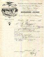 13.MARSEILLE.PRODUCTION DE SAVONS BLANCS & MARBRES.ALEXANDRE JOUNET 118 GRAND CHEMIN DE TOULON.1887.(P.J) - 1800 – 1899