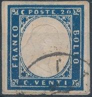 ITALY - SARDINIA, 1855, Mi SA12 - Sardaigne