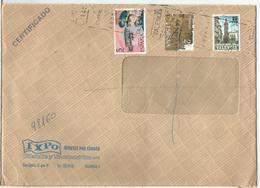 VALENCIA A ALCOY CC CERTIFICADA PLAN SUR AVIACION AVION - 1981-90 Storia Postale