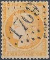 FRANCE - 1862, Yt 23, 40c, Oblitére,signé - 1870 Siege Of Paris