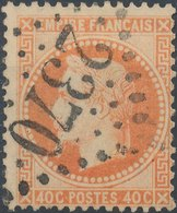 FRANCE - 1862, Yt 23, 40c, Oblitére - 1863-1870 Napoleon III With Laurels