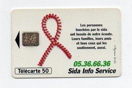 "Télécarte "" Sida Info Service "" - Phonecards"
