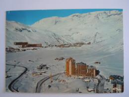 73 Savoie Station Du Lac De Tignes La Plus Haute D'Europe Vue Générale Edit Cim C 73.296.99.3.0154 Circulée 1974 Flamme - Autres Communes
