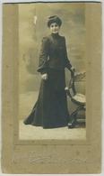 Portrait D'une Femme Par Alfred Fernbach à Toulon. 1916. - Personnes Anonymes