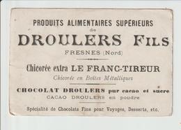 FRESNES -- PUBICITE  POUR  DROULERS  FILS - Francia