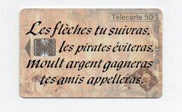 """Télécarte """" L'île Au Trésor"""" - Giochi"""
