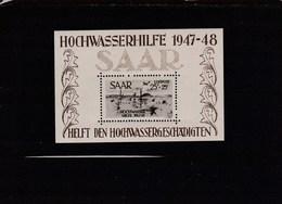 Hochwasserhilfe 1947-1947 En ** Cote 700€ - Blocs-feuillets