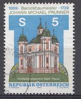 Autriche 1989  Mi.Nr: 1950 Todestag Von Johann Michael Prunner  Oblitèré / Used / Gebruikt - 1945-.... 2nd Republic