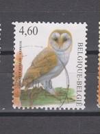Belgique COB 3983 Cachet Rond Central Chouette Effraie - Hiboux & Chouettes
