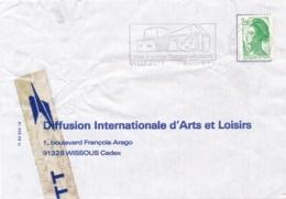 Enveloppe Réparée Avec Lettre REGRETS De LA¨POSTE - Liberté De GANDON  - Accident Détérioration CRETEIL CTA - Marcophilie (Lettres)