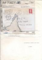 """"""" Parvenu Déchirée Dans Les Service + Lettre EXCUSES De LA POSTE + """" PARIS GARE PLM TRANSBORDEMENT 20/4/91 """" BRIAT - Marcophilie (Lettres)"""