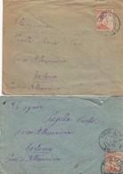 "9804-N°. 5 LETTERE 1° GUERRA-""POSTA MILITARE-16"" - 1917-18 - Marcophilia"