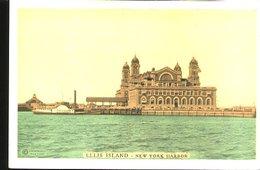US324 ELLIS ISLAND - NEW YORK HARBOR - Ellis Island