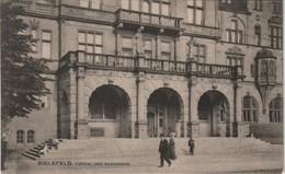 Ansichtskarte Bielefeld Rathaus Portal Eingangsbereich 1908 - Bielefeld