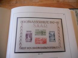 Hochwasserhilfe 1947-1947 En ** Cote 800€ - Blocs-feuillets