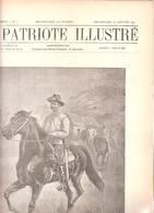 Université De Louvain-Faculté De Médecine-Anatomie-Biologie-Bactériologie-Vaccin-Serum-Le Patriote Illustré 10/01/1897 - Wetenschap