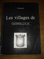 Gembloux Les Villages De Par R Delooz 150 Pages Format A4 - Gembloux