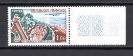 FRANCE  N° 1355 VARIETE   NEUF SANS CHARNIERE  COTE 37.00€     LE TOUQUET  VOIR DESCRIPTION - Unused Stamps