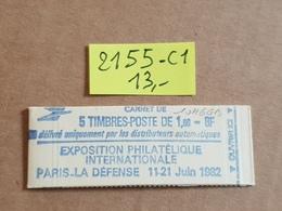 Carnet N° 2155-C1  Neuf ** Vendu à 16% De La Cote   TB - Booklets