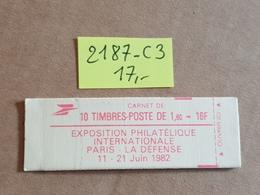 Carnet N° 2187-C3  Neuf ** Vendu à 16% De La Cote  TB - Booklets