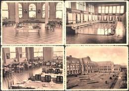 Arlon - Lot 4 Cartes Lycée Royal Et Ecole Normale De L'Etat (prix Fixe) - Arlon
