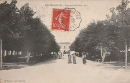 CHATELAILLON -  Avenue De La Gare .... - Châtelaillon-Plage
