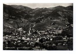 C3115 CAMPOLIGURE - VEDUTA GENERALE B\N VG 1954 - ED. G. FIORITO VERA FOTOGRAFIA - Andere Steden