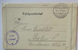 Weißrußland, Landwehr Div. Bredow 18. Armierungs Batl.43 Feldpost 1917 (66338) - Guerre 1914-18