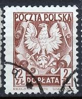 Pologne - Poland - Polen Service 1951-52 Y&T N°SI133 - Michel N°(?) (o) - 2z Armoirie - Officials