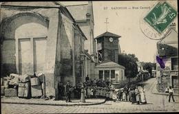 Cp Sannois Val D'Oise, Rue Carnot - France