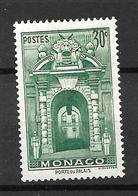 1939 - Monaco - Porte Du Palais - YT 171 - MNH* - Neufs