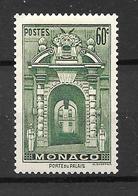 1939 - Monaco - Porte Du Palais - YT 175 A - MNH* - Unused Stamps