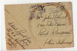 B2  20 01 1946 Lettre  Courrier FM Du 32e R.I Caserne  Desjardins à Angers - Guerra De 1939-45