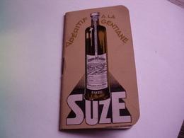 SUZE  - CALENDRIER ET BLOC NOTES 1934 - PARFAIT  ETAT - Calendari