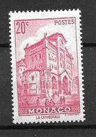 1939 - Monaco -la Cathédrale- YT 169 - MNH* - Neufs