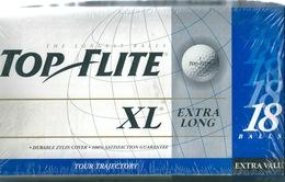 GOLF Boîte Neuve Sous Blister De 18 Balles De Golf TOP FLITE XL USA Spalding - Golf