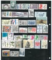 Année Complète 1987 - 48 Timbres Neufs Sans Charnières Ni Traces - Yvert N° 2452 à 2500 - France